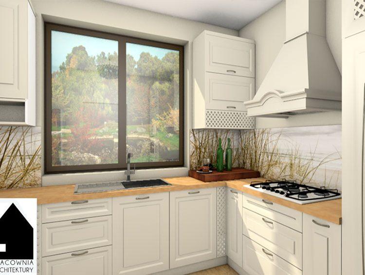 Projekt kuchni w stylu angielskim - Zwonowice