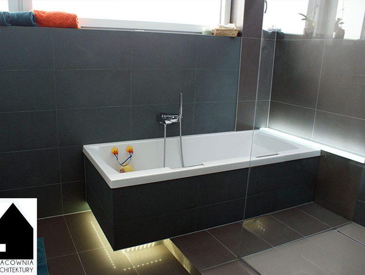 Projekt łazienki dla całej rodziny - osiedle Wrzosy Rybnik